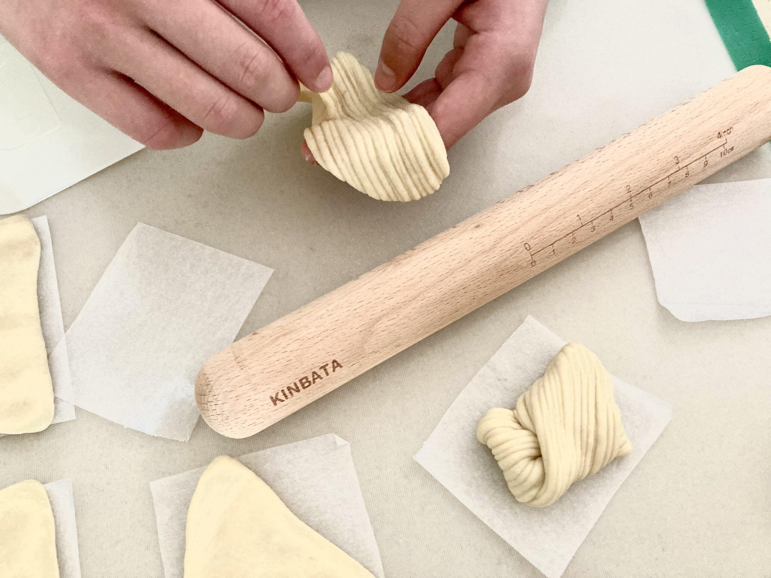 Japanese designed Kinbata Japan Kitchen wood rolling pin